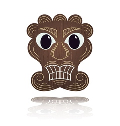 Traditional hawaiian mask vector