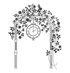 Wedding arch vector