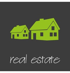 Real estate commercial design banner and vector