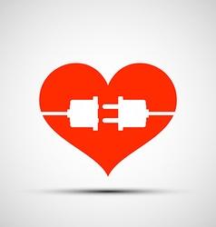 Heart logo stock vector