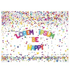 Just cheerful banner vector
