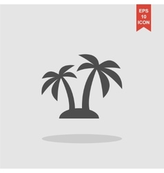 Palm icon eps 10 vector