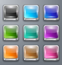 background for the app icons vector image vector image