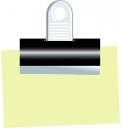 bull dog clip vector image