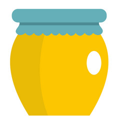 Honey liquid bank icon isolated vector