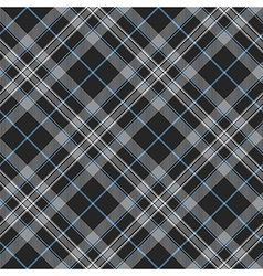 Pride of scotland platinum kilt tartan diagonal vector image
