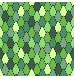 Seamless pattern with stylized scales vector image vector image