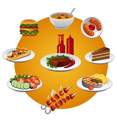 Food icon vector