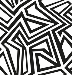 Monochrome tribal seamless pattern vector