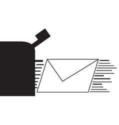 isolated delivery icon vector image