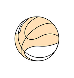 Sport basketball ball vector