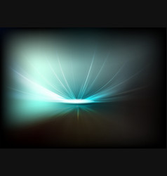 dark background with bright light vector image vector image