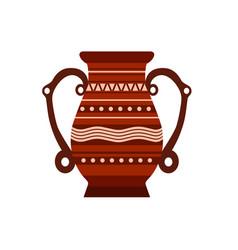 Jug clay pottery pot vase ceramic pither milk vector
