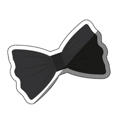 Isolated bowtie design vector image