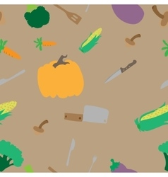 Texture with vegetables vector