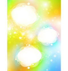 Bright copyspace frames vector