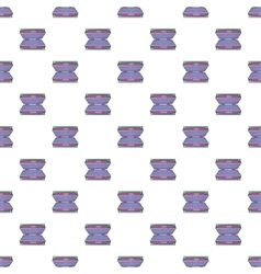 Electric grill pattern cartoon style vector