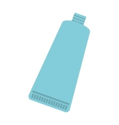 toothpaste product isolated icon vector image