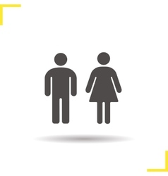 Couple icon vector image vector image