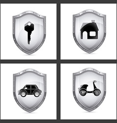 Cyber security digital design vector
