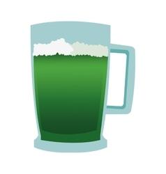 green beer icon vector image vector image