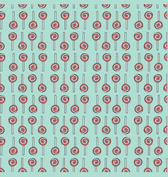 Lollipop seamless pattern vector