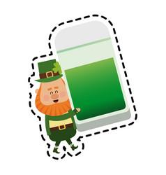 st patricks day icon image vector image