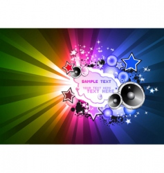 disco background for flyers vector image