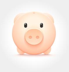 Piggy Money Box Icon vector image