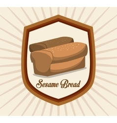 Bread and bakery design vector
