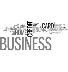 A business credit card is essential text word vector