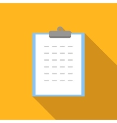 Form flat icon vector