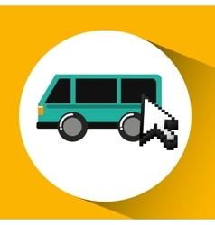 Traveling concept technology transport design vector