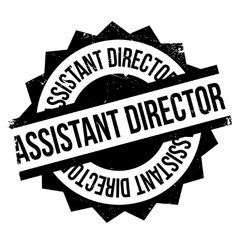 Assistant director rubber stamp vector