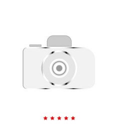 camera it is icon vector image