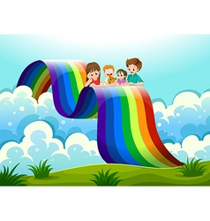 A family above the rainbow vector