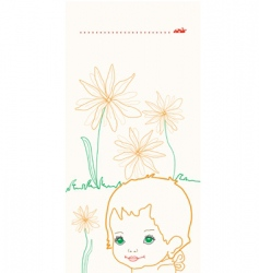 flowers baby vector image