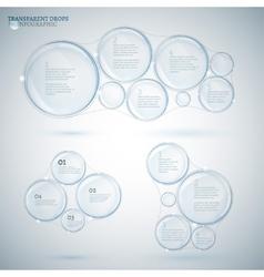 Bubble infographic 02 A copy vector image
