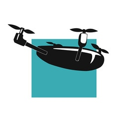 quadcopter vector image