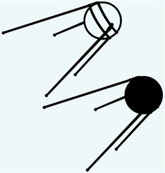 Soviet satellite vector