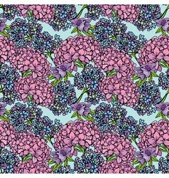 flowers handdrawn 16 380 vector image