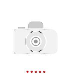Camera it is icon vector