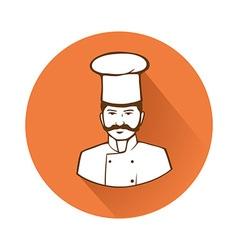 Cook chief symbol vector image
