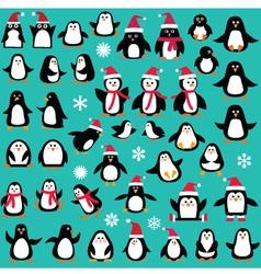 Penguin clipart vector