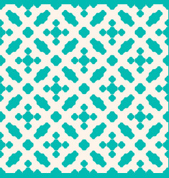 Seamless pattern with small floral shapes vector