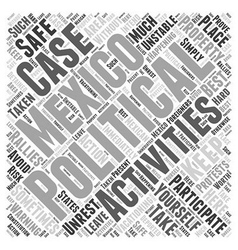 The World of Advertising Word Cloud Concept vector image
