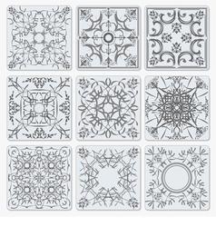 al 0943 tiles vector image