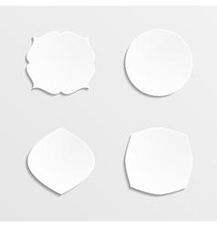 Set of farmes vector image