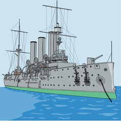 Cruiser aurora vector