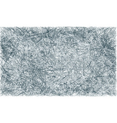 Grey and blue abstract scratched grunge vector